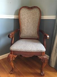 Thomasville Dining Room Chairs, Set of Six