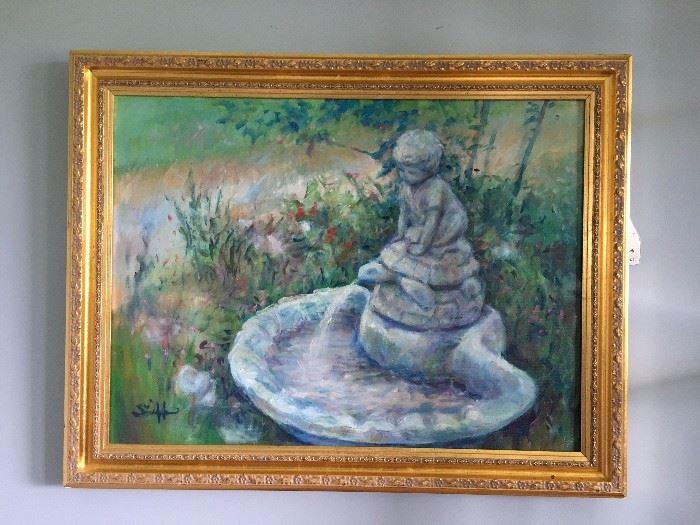 "Colleen Skiff ""Turtle Pond"" Original Art"