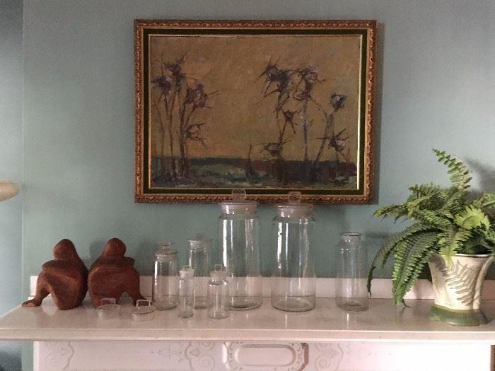 Agassiz Jar Collection, Original Art