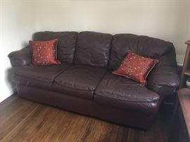Sofa & assorted furniture