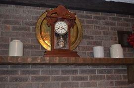 Beautiful Antique Gingerbread Kitchen Clock
