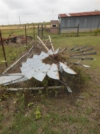 Antique windmill/ Airpower with ALL parts and hardware/EXCELLENT CONDITION !!!