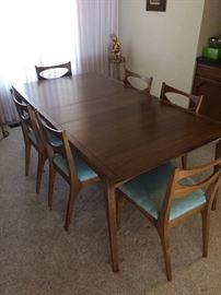 Beautiful Mid-Century Modern 7 piece dining set