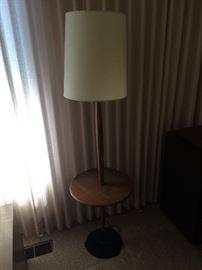 Mcm Wood floor lamp