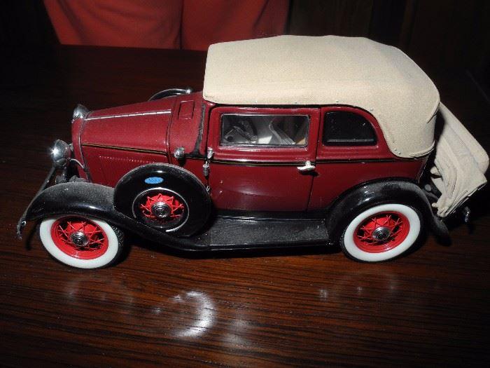 Another model vintage car