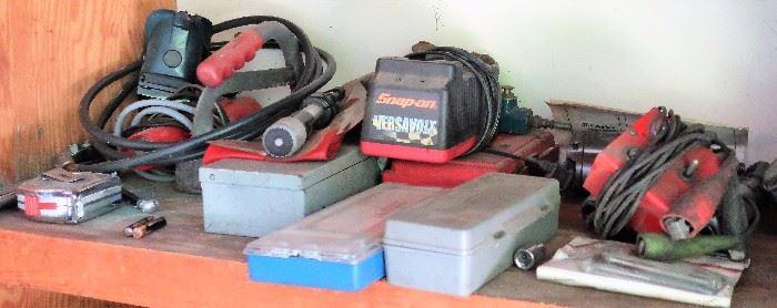 Power Tools: Roybi, Craftsman, Snap-on, DeWalt, Makta, Black & Decker, and More