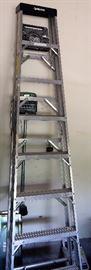 8' Husky Aluminum Step Ladder