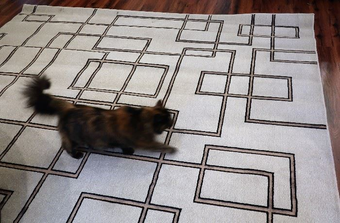 8' x 10' Area Rug (Cat NOT Included)