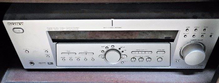 Sony Digital Audio/Video Control Center, DVD/VHS Player, DVD Player