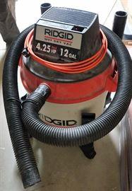 Ridgid 4.25HP 12gal Wet/Dry Vac.