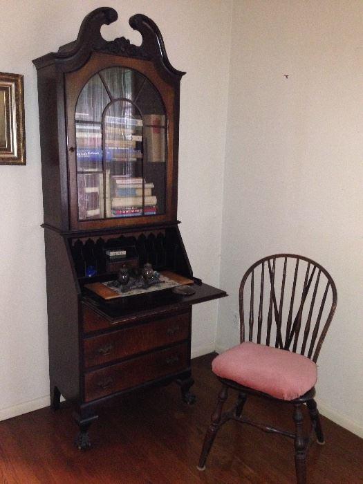 Antique Secretary, Chair