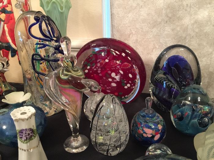 Collectable Art Glass by Rollin Karg.