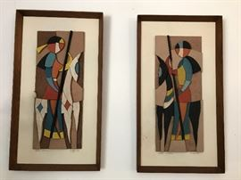 Allen Noonen 3D wood pictures
