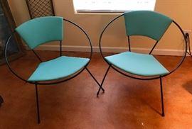 vintage hoop chairs