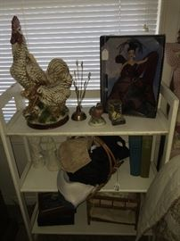 Chicken decor and other fun items