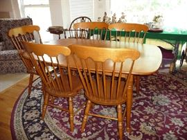 ANOTHER VIEW OF DINING TABLE