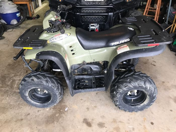 2001 Polaris Sportsman 90 ATV