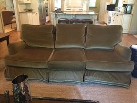 Pair of Lee Industries custom upholstered sofas