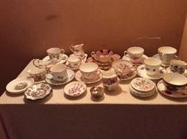 English China and Pottery.