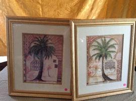 framed decorator prints