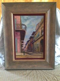 Oil Paintings -- signed