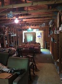 Barn attic loaded with treasures!