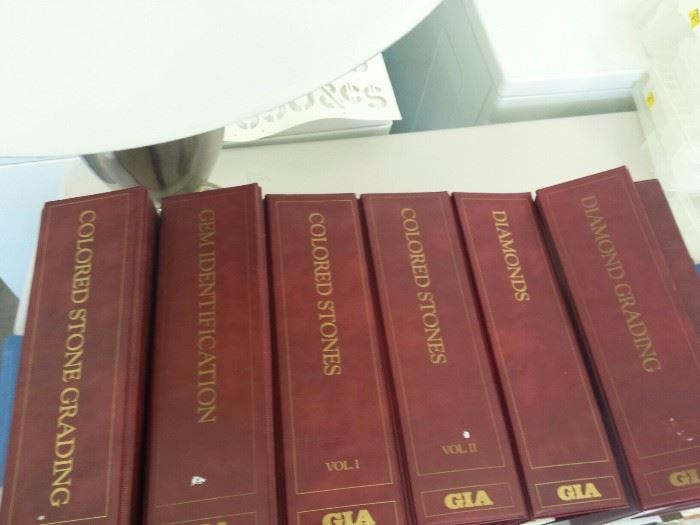 GIA (Gemological Institute of America) course books, worth thousands of dollars.  Asking $500 for all.