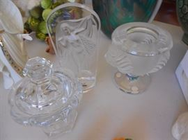 Baccarat and Lalique