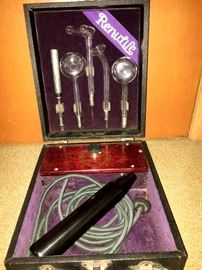"Well...Here We Are With Our Yearly ""Tool-A-Palooza""!  Hey...Let's Start With Some Treasures Shall We? K!  How About This Amazing Renulife Salesman- Doctors Kit. It's Like New!"