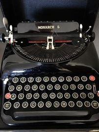 OR...Check This Out...It's Is The Most Beautiful Vintage Typewriter I've Ever Seen...I'm Not Sure If Anyone Has Ever Used It!...