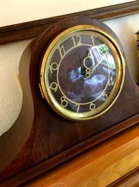 Also A Pretty Pretty Electric Seth Thomas Mantle Clock...Of course It Works!...