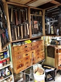 Hand Tools...Drawers Of Treasures...