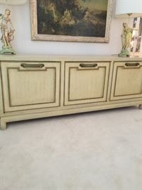 French Provincial mid century credenza