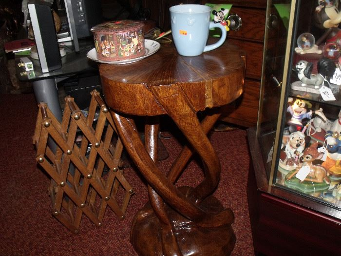 Handmade wood table!