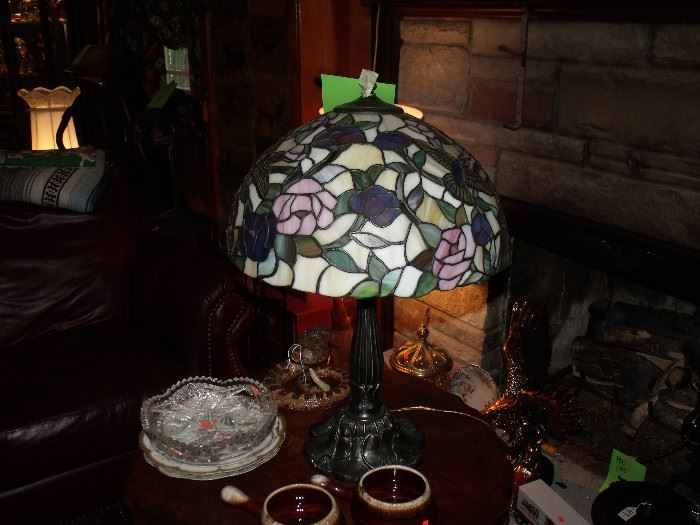 Stained glass lamps!