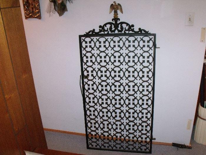 Iron door gate!