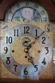 Herschede Grandfather Clock #120 Alexander Hamilton