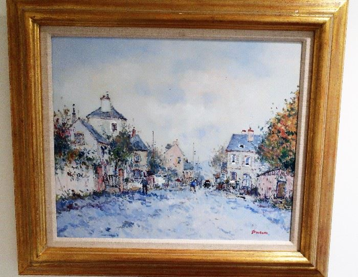 Signed Painting By JP Dubord