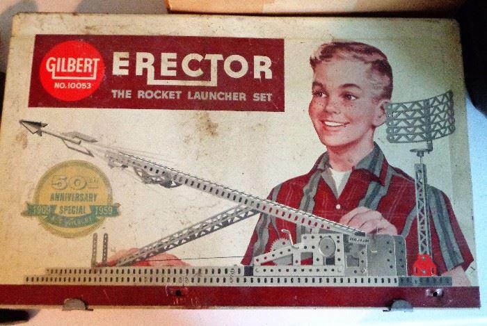 Gilbert Erector Set (50th Anniversary Special 1909-1959)