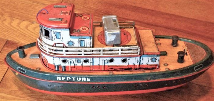 Neptune Tin Boat
