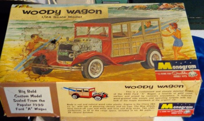 Monogram 1/24 Scale Woody Wagon Model