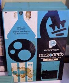 Porter Microcraft Microscope Lab