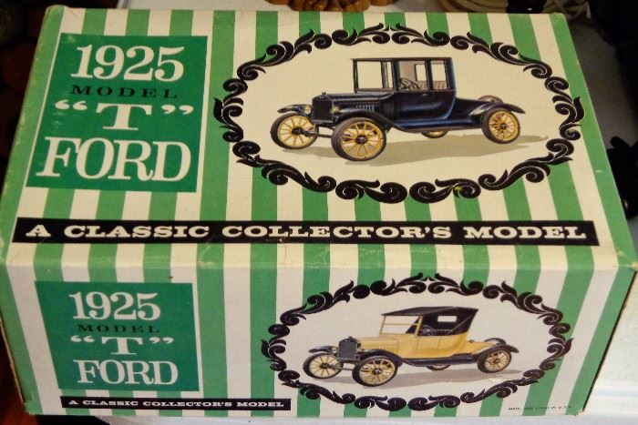 """1925 Model """"T"""" Ford Collector's Model"""