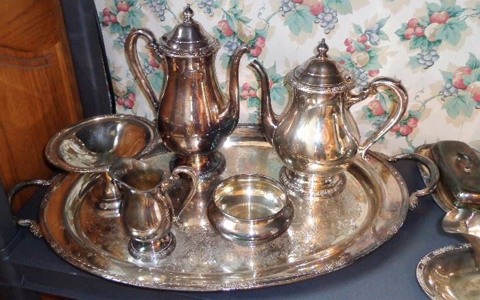 Silver Plate Pieces