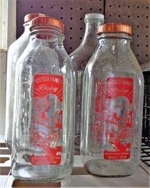 Shetler Family Dairy Milk Bottles