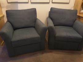Two matching Baker chairs