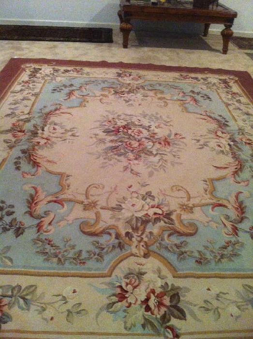 French Aubusson view 3