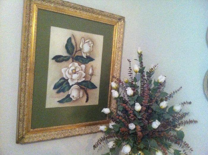 Sue Bowers Magnolia painting