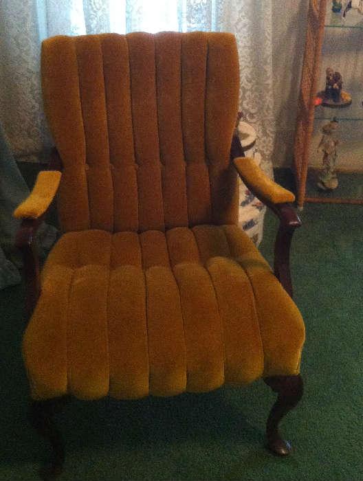 Queen Anne classic chair (2)