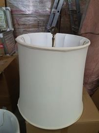 Standing lamp shades